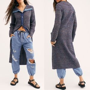 NEW Free People Under The Boardwalk Cardigan